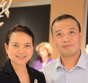 dr yan and her husband